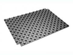 Мат для теплого пола с бобышками черный 1100x800x20