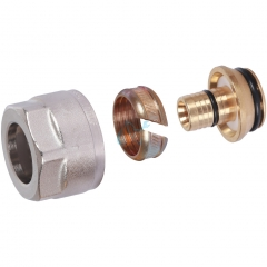 Фитинг компрессионный для труб PEX-AL-PEX 16x2,0x3/4