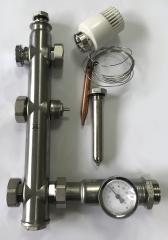 Узел подмеса M1 с термоголовкой IVAR 501175 (IPS)