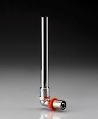 Трубка для подключения радиатора Г-обр. IVAR 16/165мм
